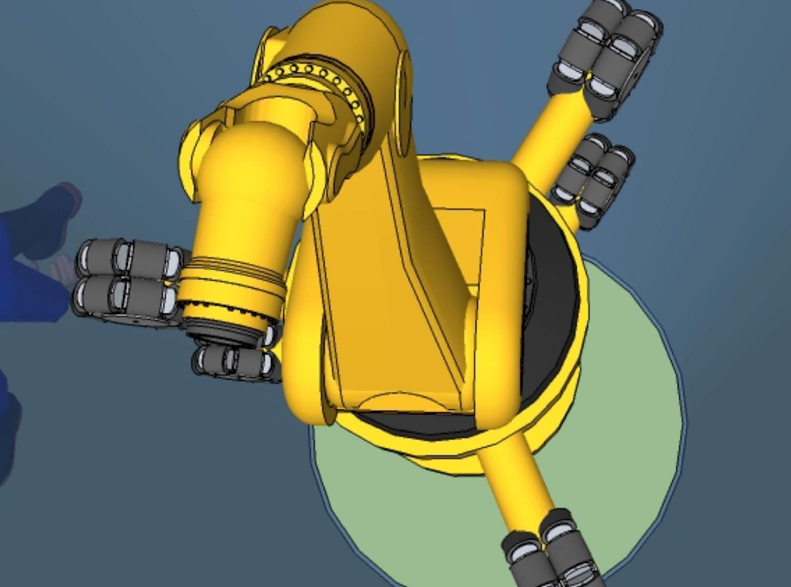 Robot inspection pipeline intérieure