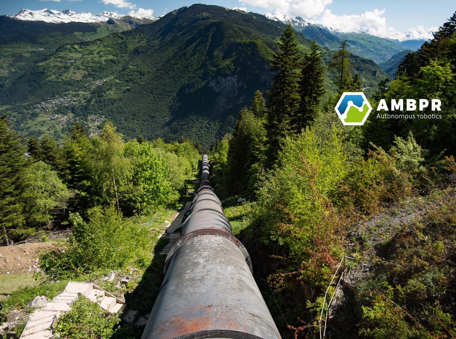 Robot autonome pipeline